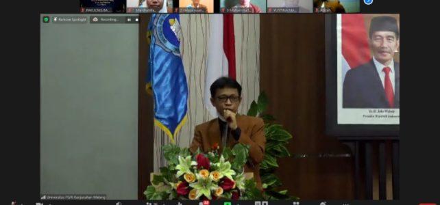 Cetak Lulusan Open Minded, FBS Unikama Gelar Yudisium Semester Ganjil TA 2020/2021